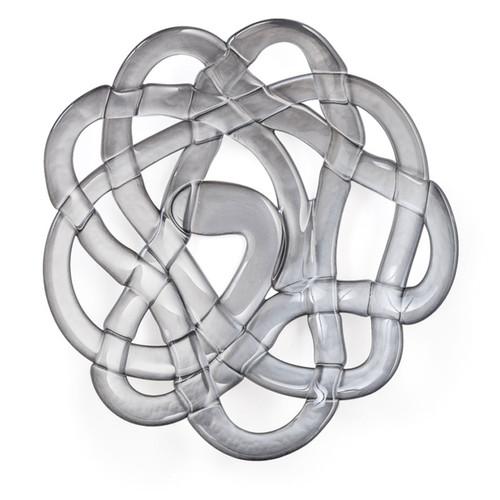 Kosta Boda Basket Bowl Silver Large