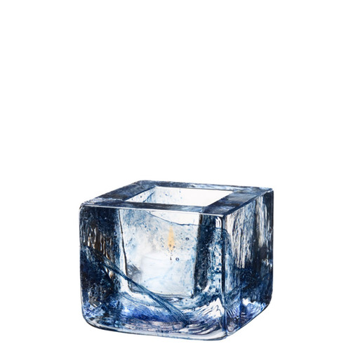 Kosta Boda Brick Votive Blue MPN: 7061032 Designed by Anna Ehrner