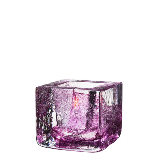 Kosta Boda Brick Votive Purple MPN: 7061034 Designed by Anna Ehrner