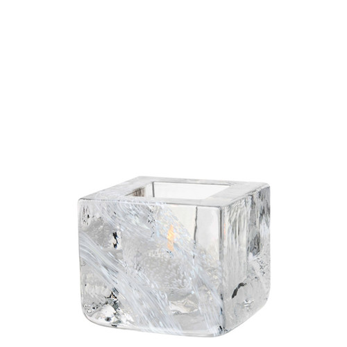 Kosta Boda Brick Votive White MPN: 7061031 Designed by Anna Ehrner