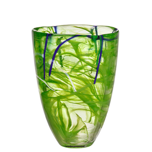 Kosta Boda Contrast Vase Lime