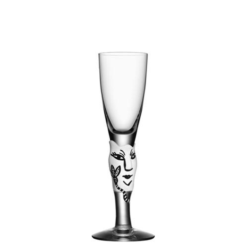 Kosta Boda Open Minds Shot Glass White MPN: 7091317 Designed by Ulrica Hydman-Vallien