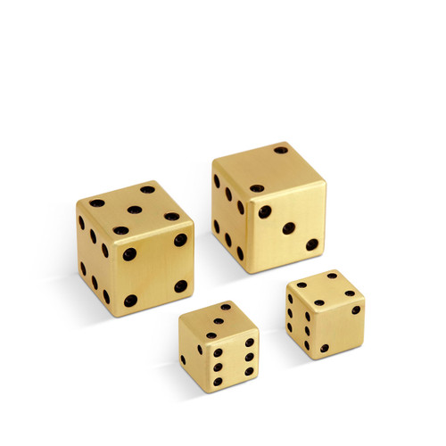 L'Objet Dice 2 Pairs (Small with Large)