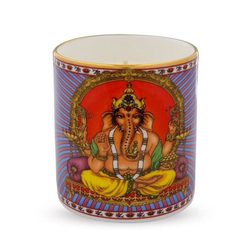 Halcyon Days Ganesh Filled Candle BCGAN01CAG
