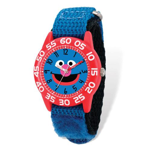 Sesame Street Grover Time Teacher Watch Kids XWA5430