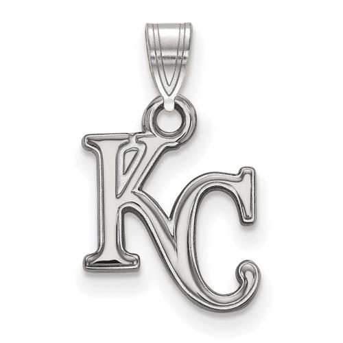 Kansas City Royals Small Pendant 10k White Gold 1W002ROY