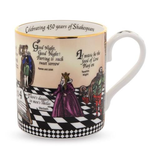 Halcyon Days Shakespeare Mug BCSHA01MGG