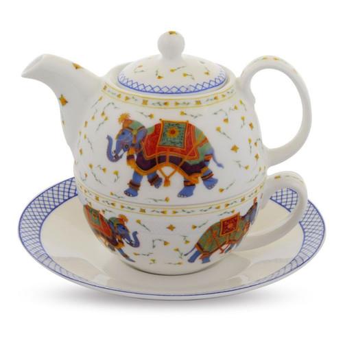 Halcyon Days Tea For One Indian Elephant BCCIE03TON