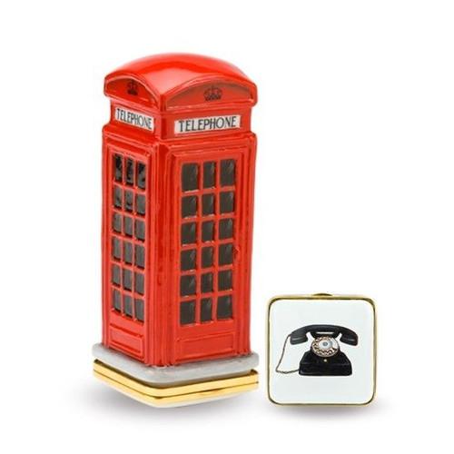Halcyon Days Telephone Box Bonn EBTEL0165G