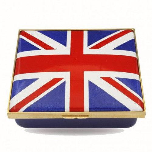 Halcyon Days The Union Flag Enamel Box ENTUF1112G
