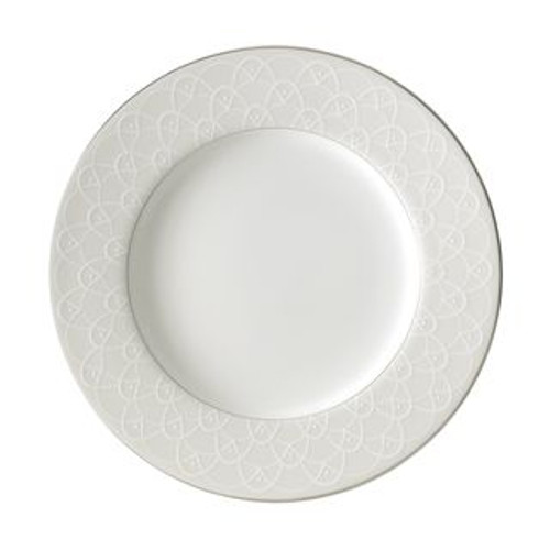 Waterford Ballet Icing Pearl Accent Salad Plate 9 Inch