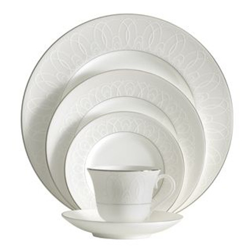 Waterford Ballet Icing Pearl Five Piece Place Setting