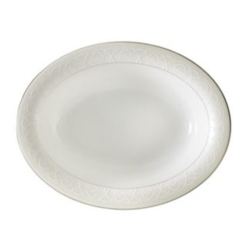 Waterford Ballet Icing Pearl Open Vegetable Bowl 9.75 Inch