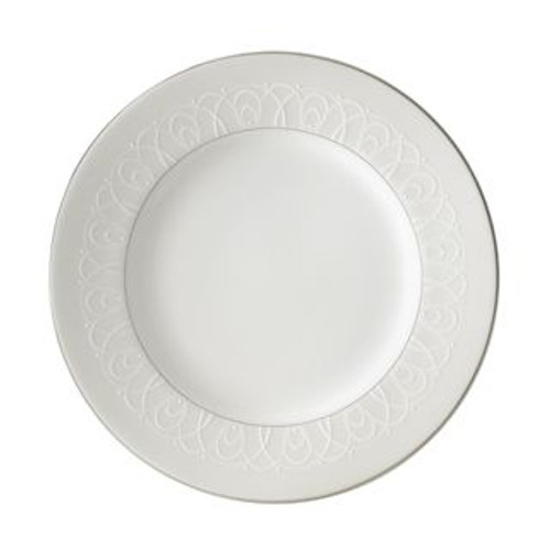 Waterford Ballet Icing Pearl Salad Dessert Plate 8 Inch