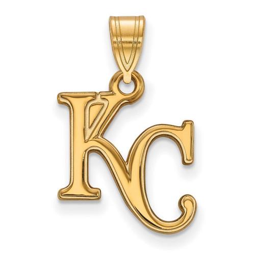 Kansas City Royals Medium Pendant 10k Yellow Gold 1Y003ROY