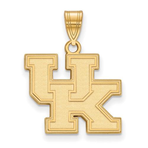 University of Kentucky Medium Pendant 10k Yellow Gold 1Y003UK