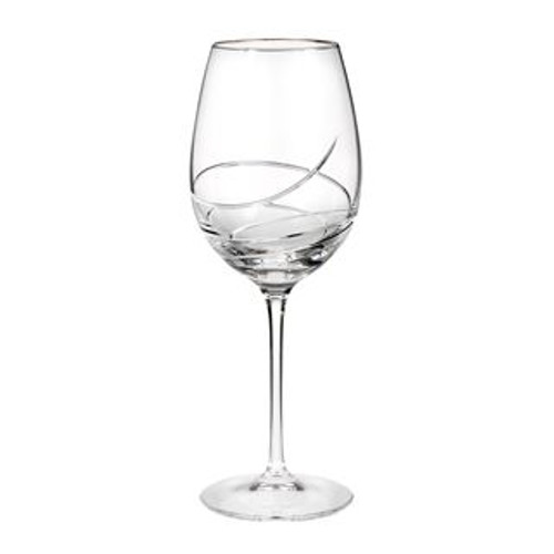 Waterford Ballet Ribbon Essence Platinum Goblet/Red Wine