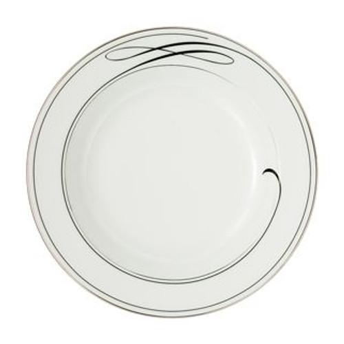 Waterford Ballet Ribbon Rim Soup Plate 9 Inch