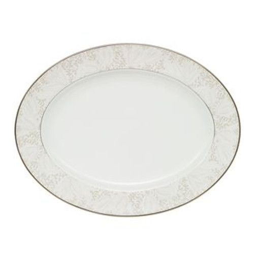 Waterford Bassano Oval Platter 15.25 Inch