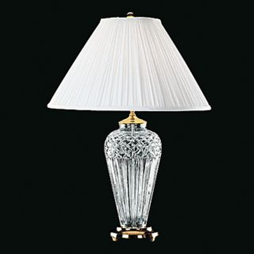 Waterford Belline Table Lamp 29 Inch Polished Brass