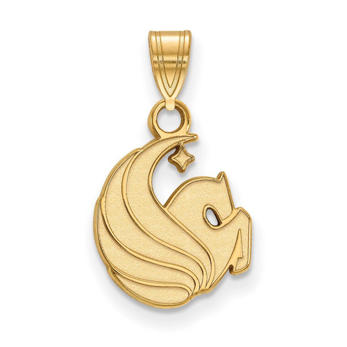 University of Central Florida Small Pendant 10k Yellow Gold 1Y026UCF