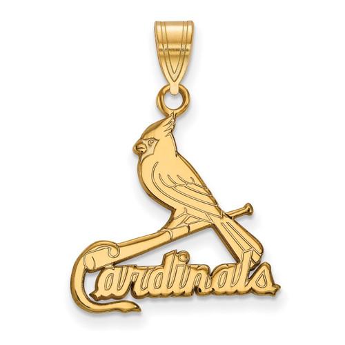 Saint Louis Cardinals Large Pendant 14k Yellow Gold 4Y004CRD