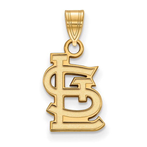 Saint Louis Cardinals Small Pendant 14k Yellow Gold 4Y045CRD