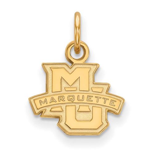 Marquette University x-Small Pendant Gold-plated Silver GP001MAR