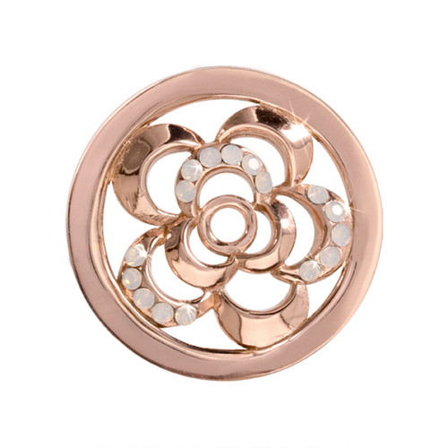 Nikki Lissoni Surprising Poppy Rose Gold-Plated 23mm Coin C1092RGS