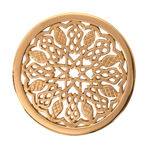 Nikki Lissoni Indian Summer Gold-Plated 33mm Coin C1120GM