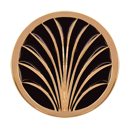 Nikki Lissoni Gold Leaves Gold-Plated 33mm Coin C1209GM