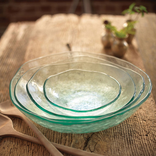 Annieglass Salt Small Bowl 7 1/4 Inch