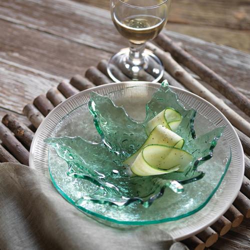 Annieglass Salt Medium Bowl 10 Inch