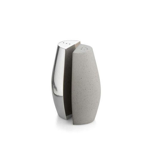 Nambe Forte Salt and Pepper Shakers MT0941