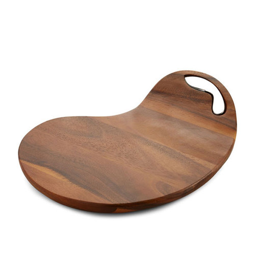 Nambe SixtyFive Cheese Board with Knife  MT0925