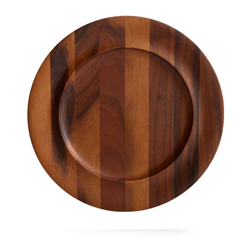 Nambe Skye Wood Charger Plate MT0921