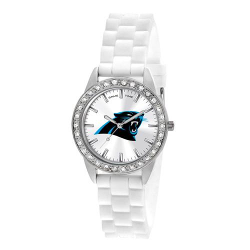 NFL Carolina Panthers Frost Ladies Watch XWL1098