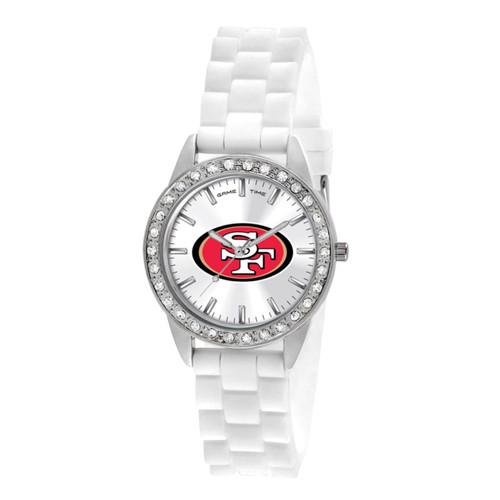 NFL San Francisco 49ers Frost Ladies Watch XWL1120