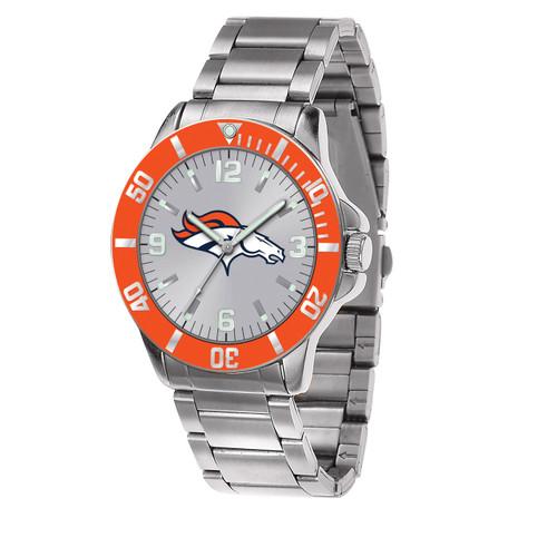 NFL Denver Broncos Sparo Key Watch XWM2401
