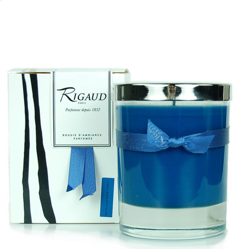 Rigaud Demi Medium Candle Chevrefeuille Royal Blue