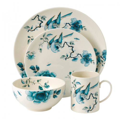 Wedgwood Blue Bird 4-Piece Place Setting