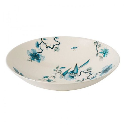 Wedgwood Blue Bird Centerpiece Bowl 13.5 Inch