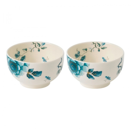 Wedgwood Blue Bird Dip Bowl 4.3 Inch Set Of Two