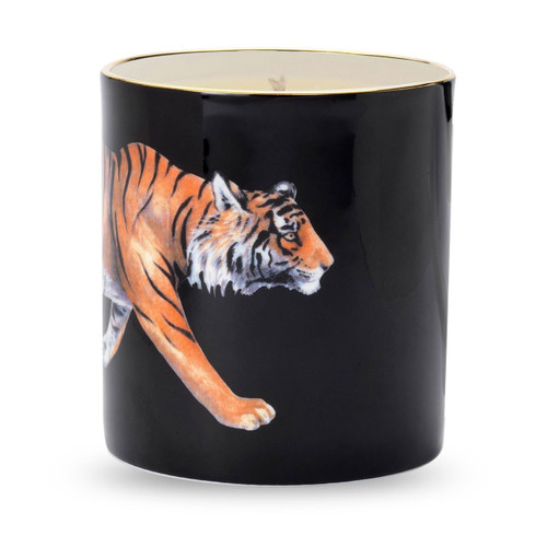 Halcyon Days Tiger Filled Candle BCMWT02CAG