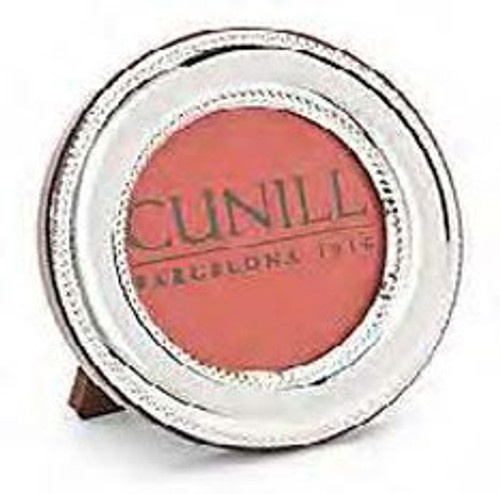 Cunill 2.5 Inch Round Picture Frame Bead - Sterling Silver