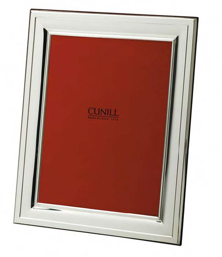 Cunill 208 5 x 7 Inch Picture Frame - Silverplated