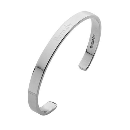 Cunill Adult Bangle Bracelet - Sterling Silver