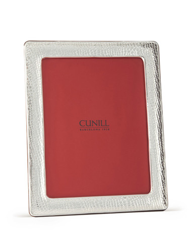 Cunill Alligator 5 x 7 Inch Picture Frame - Sterling Silver