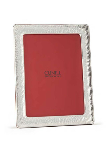 Cunill Alligator 8 x 10 Inch Picture Frame - Sterling Silver