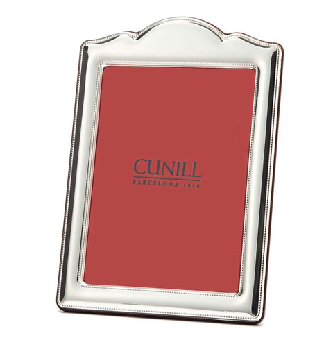 Cunill Anniversary 5 x 7 Inch Picture Frame - Sterling Silver